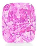 diamant rose vivid pink