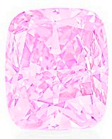 diamant rose light pink