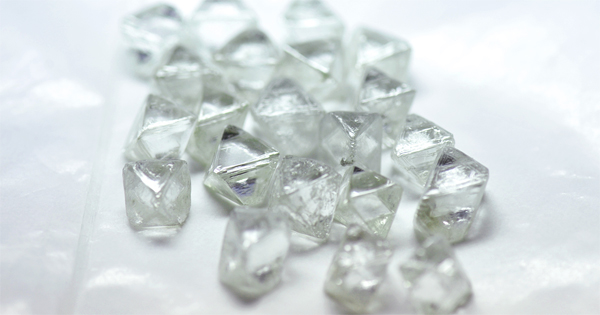 diamant brut production